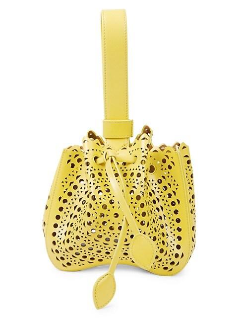 Mini Rose-Marie Leather Bracelet Bag