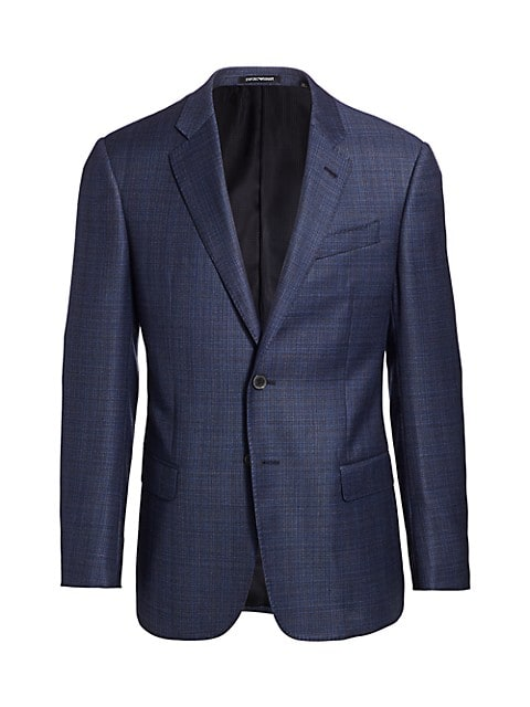 Super 130 Virgin Wool Sports Coat