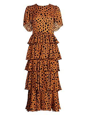 Rhode - Serena Cheetah Print Dress