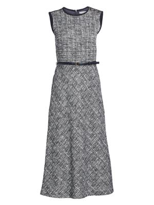 Max Mara Dresses Spadino Belted Midi Dress