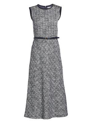 Max Mara Dresses Spadino Belted Midi Dress