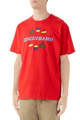 Gucci T-shirts Gucci Blade Print T-Shirt
