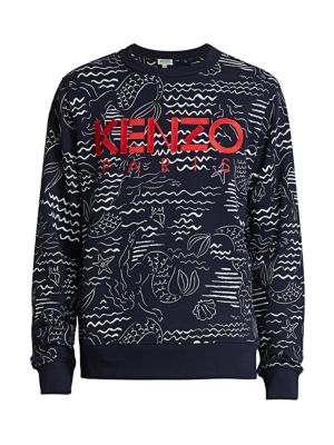 Kenzo All-Over Printed Sweatshirt
