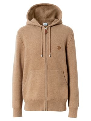 Burberry Tops Cashmere Hoodie