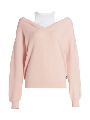 N:philanthropy Bi-Layer Merino Wool Sweater