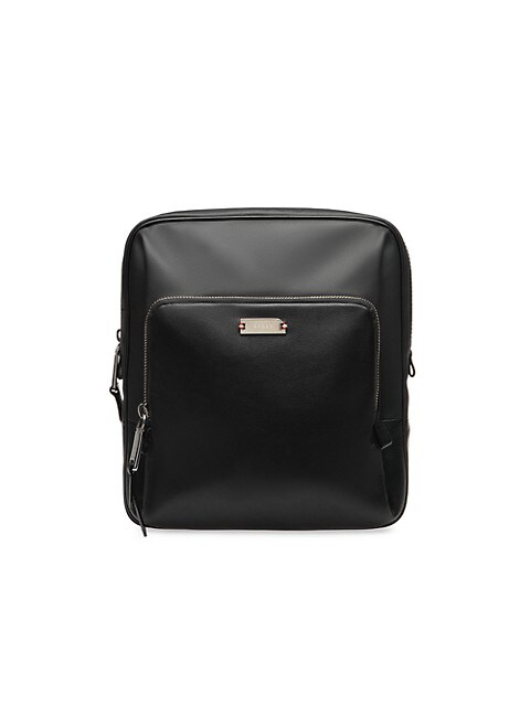 Vogel Mixed-Media Crossbody Bag