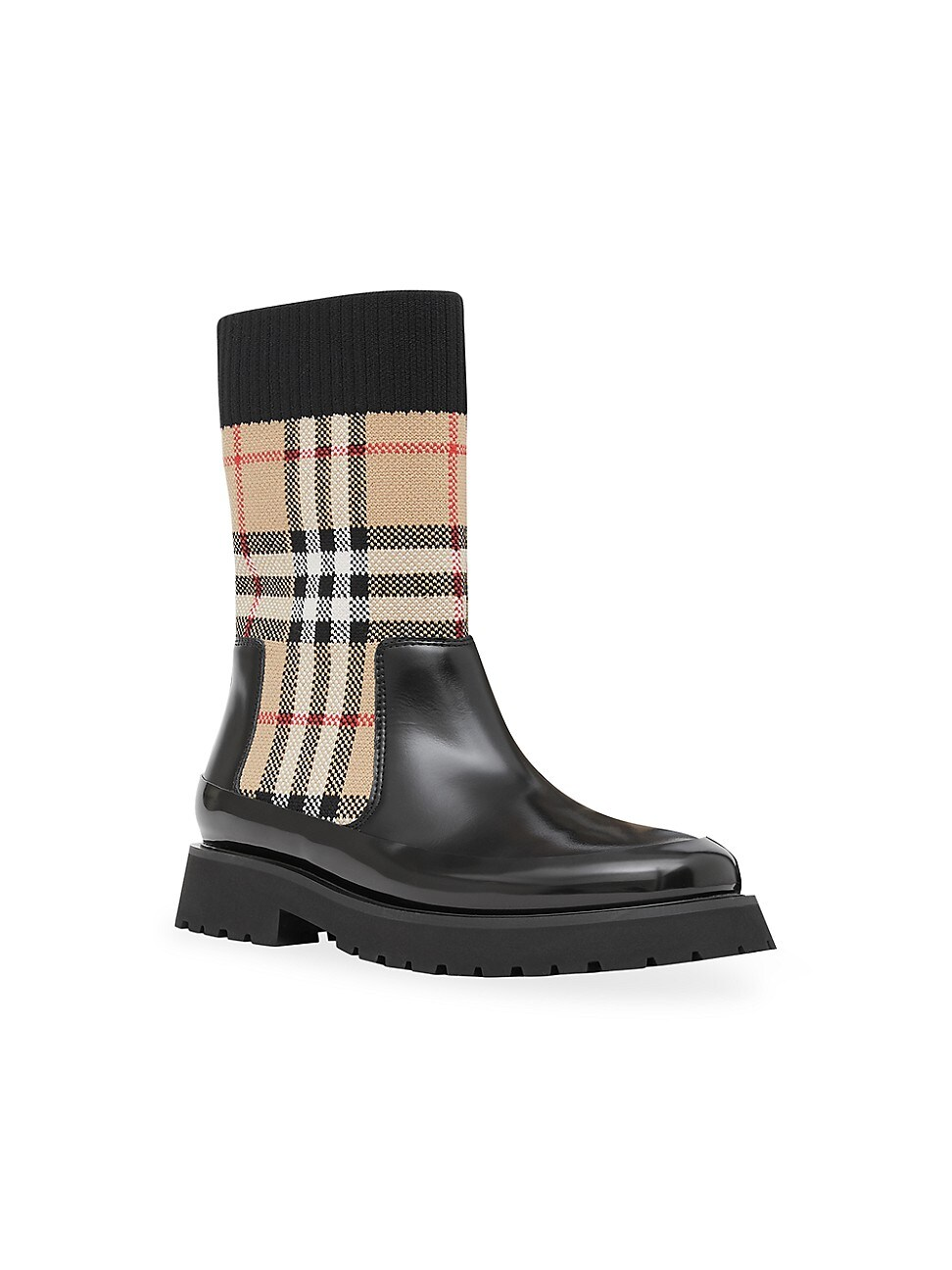 BURBERRY KID'S DOUG BOOTS