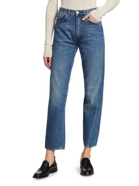 Toteme Original Straight-Leg Jeans | SaksFifthAvenue
