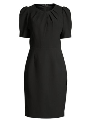 Elie Tahari Dresses Delphine Puff-Sleeve Sheath Dress