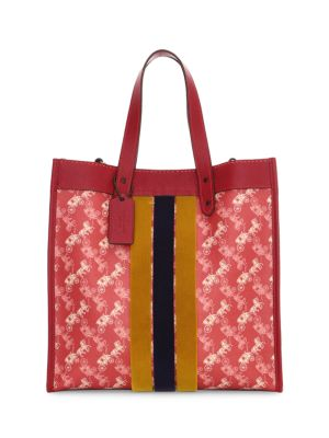 how to buy buy good COACH - Coated Canvas Print Field Tote - saks.com