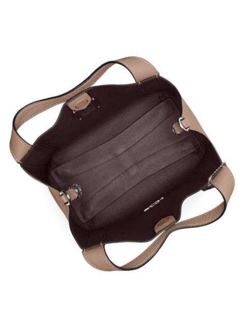 Coach Hadley Leather Hobo Bag | SaksFifthAvenue