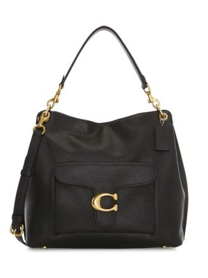 Coach Tabby Leather Hobo Bag Saks