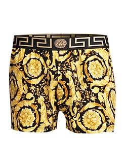 Just cavalli homme coton stretch 3-pack boxer court trunks noir-neon