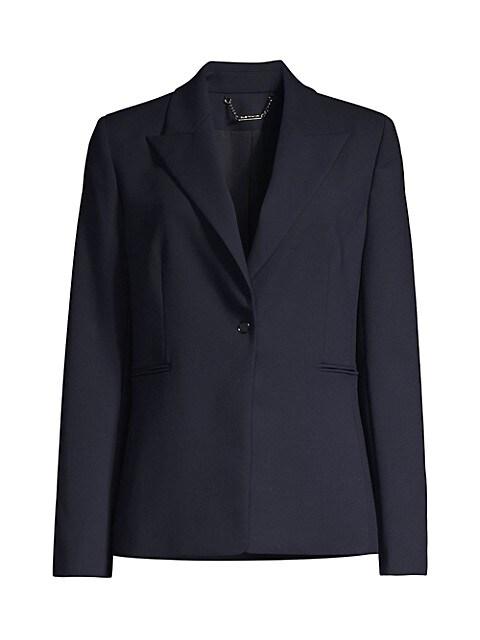 Limani Single-Button Blazer
