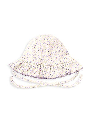 Kissy Kissy - Baby Girl's Spring Whispers Floral Sun Hat