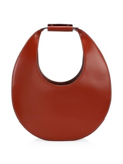 Staud Large Moon Leather Hobo Bag | SaksFifthAvenue