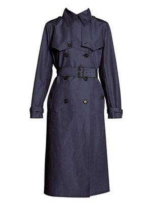 Prada Coats Tech Trench Coat