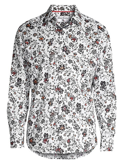 Grey Gardens Classic-Fit Floral-Print Shirt