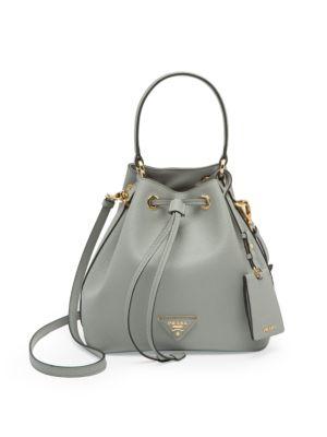 Prada Saffiano Leather Bucket Bag