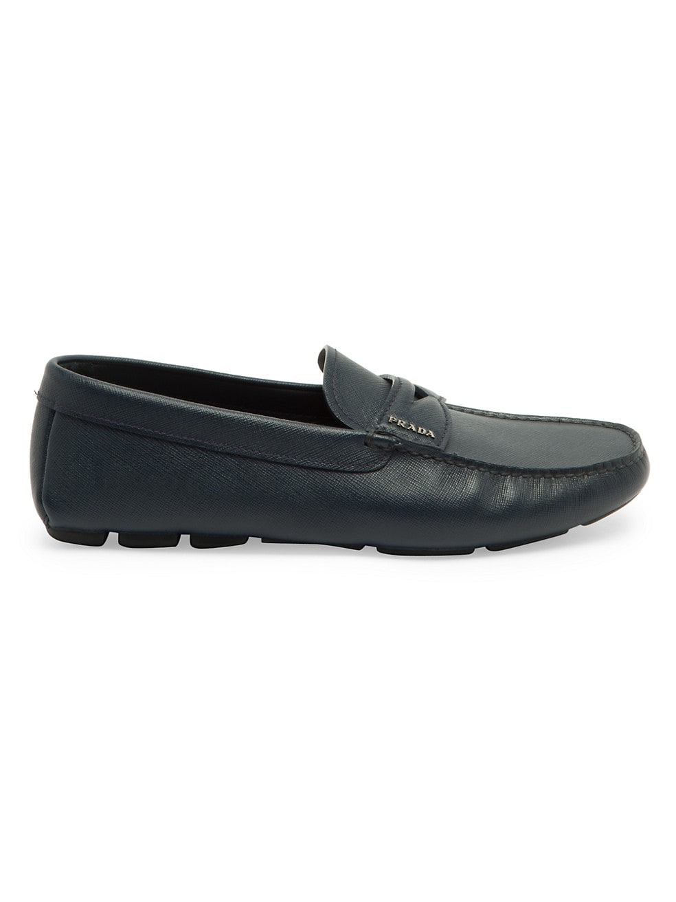 Prada Leather Penny Driving Loafers