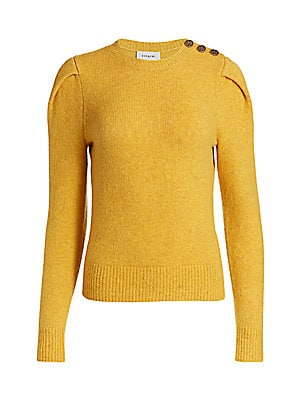 COACH - Button-Trimmed Wool & Cashmere Sweater