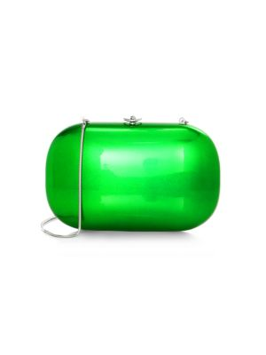 Jeffrey Levinson Elina Plus Electric Clutch In Electric Green