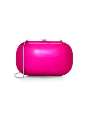 Jeffrey Levinson Elina Plus Electric Clutch In Electric Pink