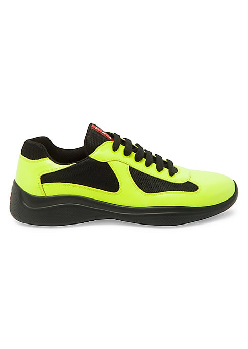 Cup Leather \u0026 Mesh Sneakers