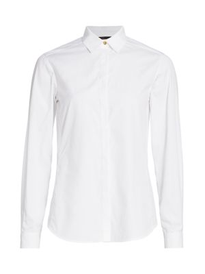 Agnona T-shirts Cotton Poplin Shirt