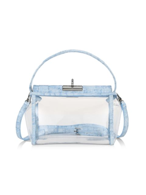 Gu_de Water Leather-Trimmed PVC Crossbody Bag | SaksFifthAvenue