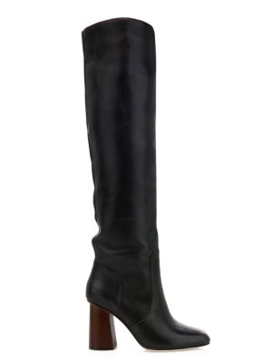 Riley Faux Suede Knee High Boots