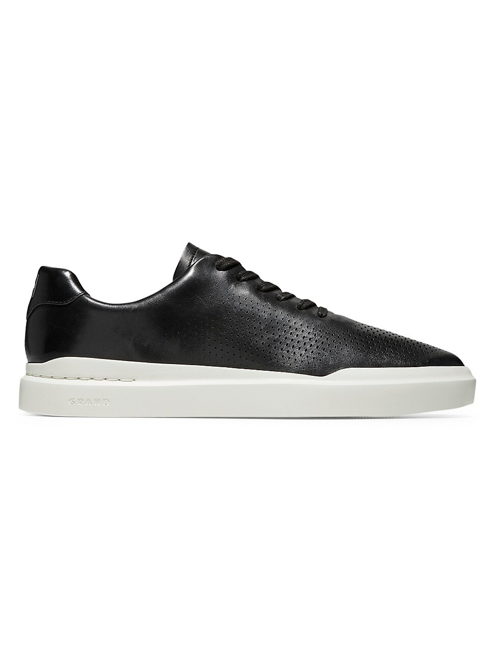 Cole Haan Leathers MEN'S GRAND PRO RALLY LASER CUT SNEAKERS