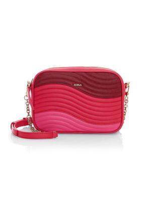 Furla Women's Mini Swing Colorblock Camera Bag In Neutral