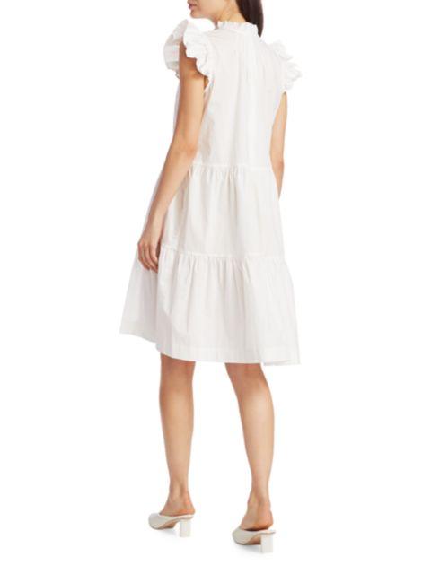 Sea Waverly Ruffle Tunic Dress | SaksFifthAvenue