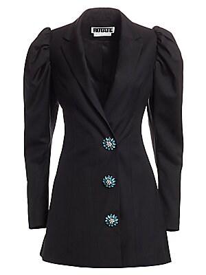 Carol Puff Sleeve Blazer Dress by Rotate Birger Christensen