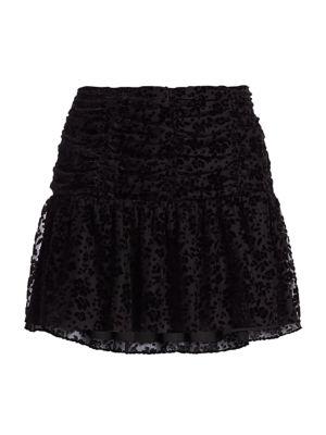 Parker Skirts Nova Floral Burnout Mini Skirt
