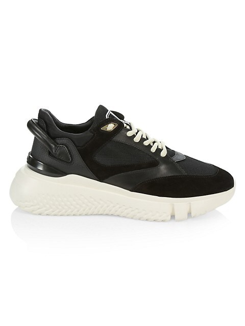 Veloce Tonal Leather Sneakers