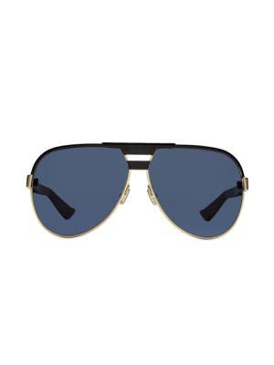 Dior Forerunner 61mm Aviator Sunglasses In Blue