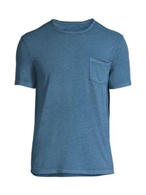 John Varvatos Men's Patch Pocket T-shirt In Sky