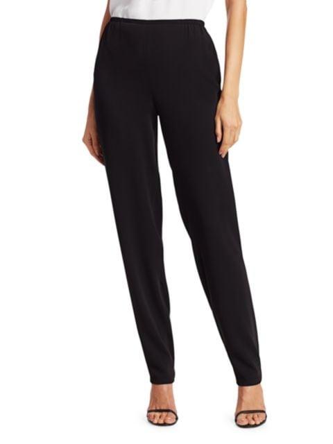 Caroline Rose Petite Suzette Slim-Fit Pants | SaksFifthAvenue
