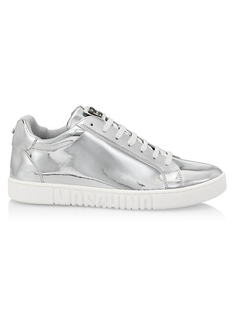 Chrome Low-Top Sneakers