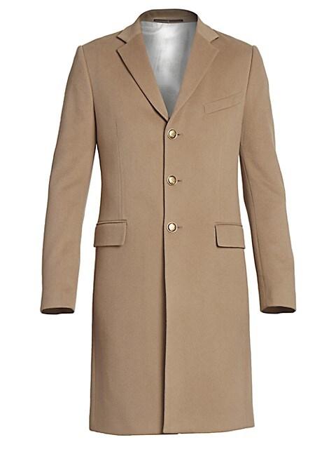 Long Wool & Cashmere Coat