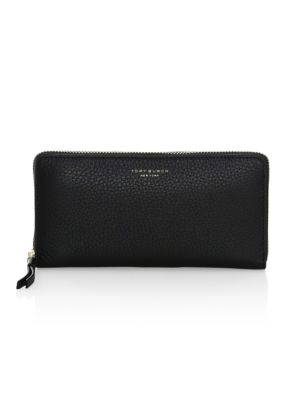 Tory Burch Wallets Perry Zip-Around Leather Wallet
