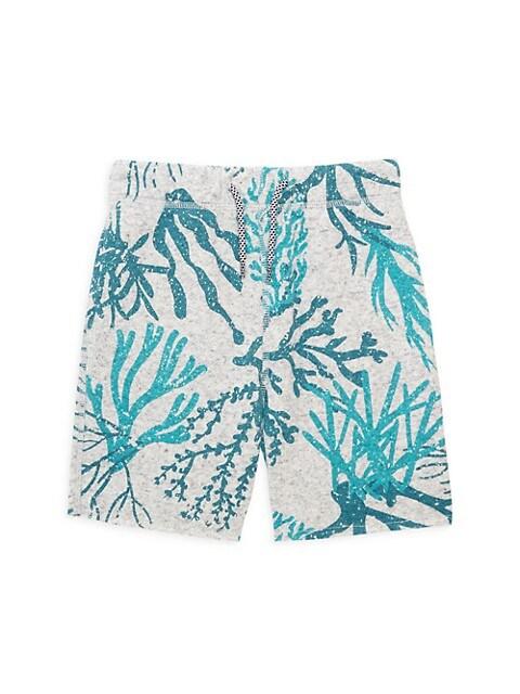 Appaman Babys, Little Boys & Boys Reef-Print Camp Shorts