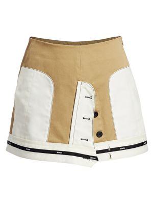Monse Skirts Inverted Twill Mini Skirt