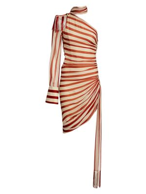 Monse Dresses Chiffon Silk Regalia Scarf Dress