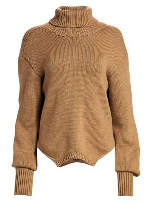 Monse Knits Upside-Down Merino Wool Knit Sweater