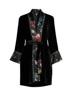 Johnny Was Jackets Print Mix Kimono Jacket