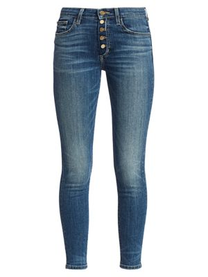 Joe's Jeans Jeans Charlie High-Rise Cropped Skinny Jeans