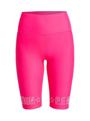 P.e Nation Shorts Swish Athletic Biker Shorts